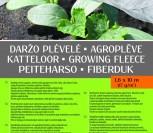 DARŽO PLĖVELĖ 1,6X10M(17G/KV.M)