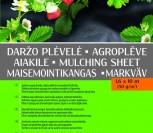 DARŽO PLĖVELĖ JUODA 1,6X10M (50G/KV.M)