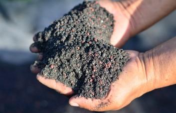 Kompostuotas arklių mėšlas
