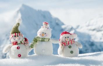 Dirbtinio sniego papuošimai